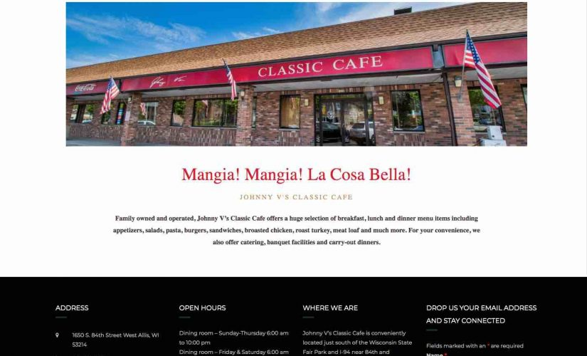 Johnny V's Classic Cafe'